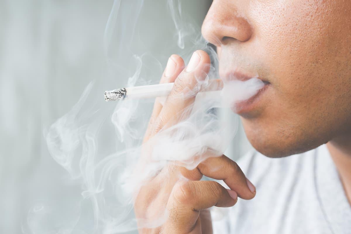 Smoking cancer risk