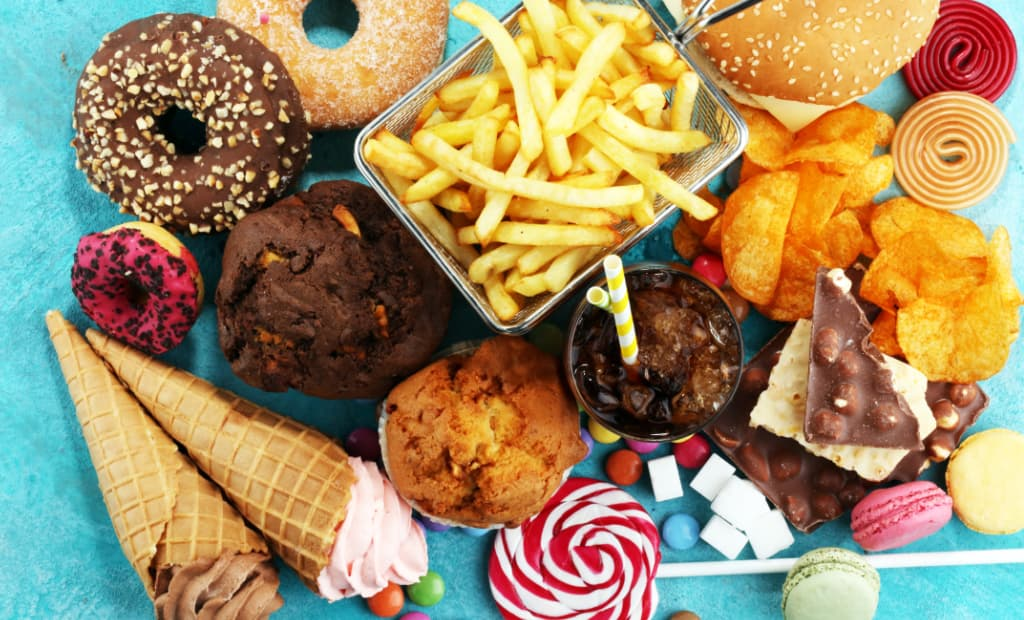 Unhealthy food can cause high cholesterol